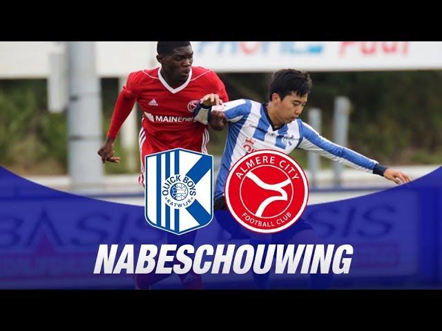 Samenvatting: Quick Boys - Jong Almere City FC (2-3)