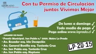 Permiso Circulación Lo Prado 2015