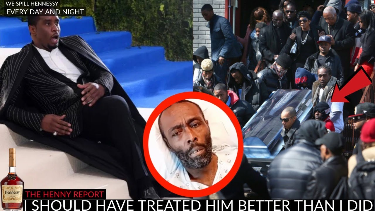 Diddy FAINTED at Black Rob's Funeral (YOU MUST SEE THIS)