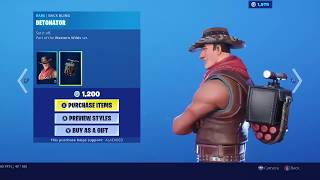 RIO GRANDE Skin Set is BACK in Fortnite! [September 11th, 2019]