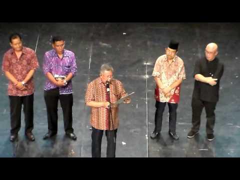 PARADE TARI DAERAH RIAU 2014, PEGUMUMAN PEMENANG