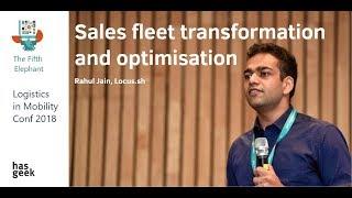 Sales fleet transformation and optimisation