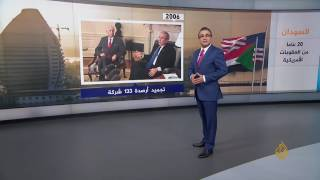 تسلسل الأحداث المتعلقة بالعقوبات الأميركية على السودان