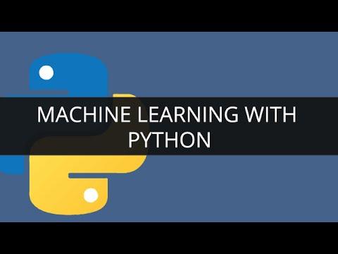 Machine learning with Python | Edureka