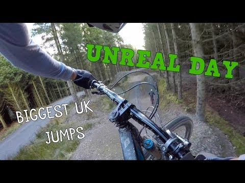 UNREAL DAY ON HUGE MTB JUMPS!!