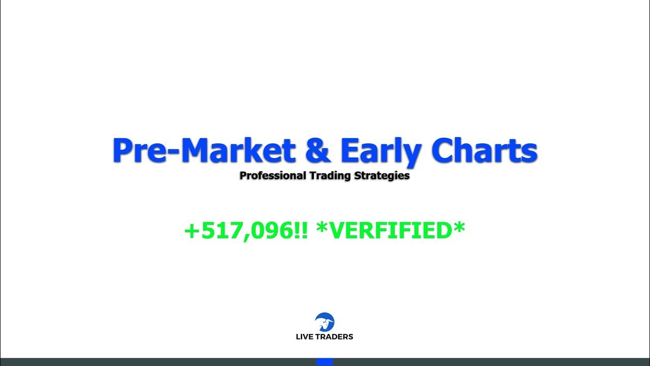 Repeat How To Use PRE-MARKET CHARTS To Make $500,000! by