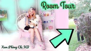 Đột Nhập Vào Phòng Ngủ Của Chị Kem Bơ _ Room Tour