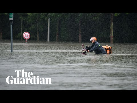 Deadly rains hit central China as subways flood and tens of millions impacted