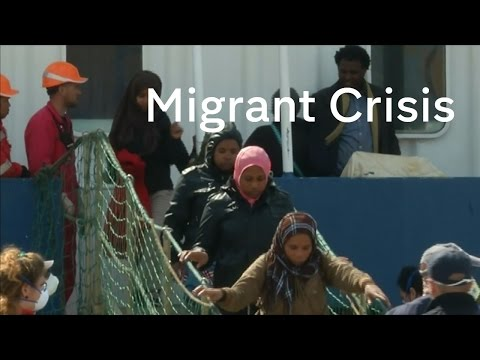 Migrant Crisis: thousands now arriving in Italy every month