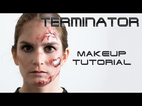 Terminator Makeup Tutorial | Freakmo Halloween
