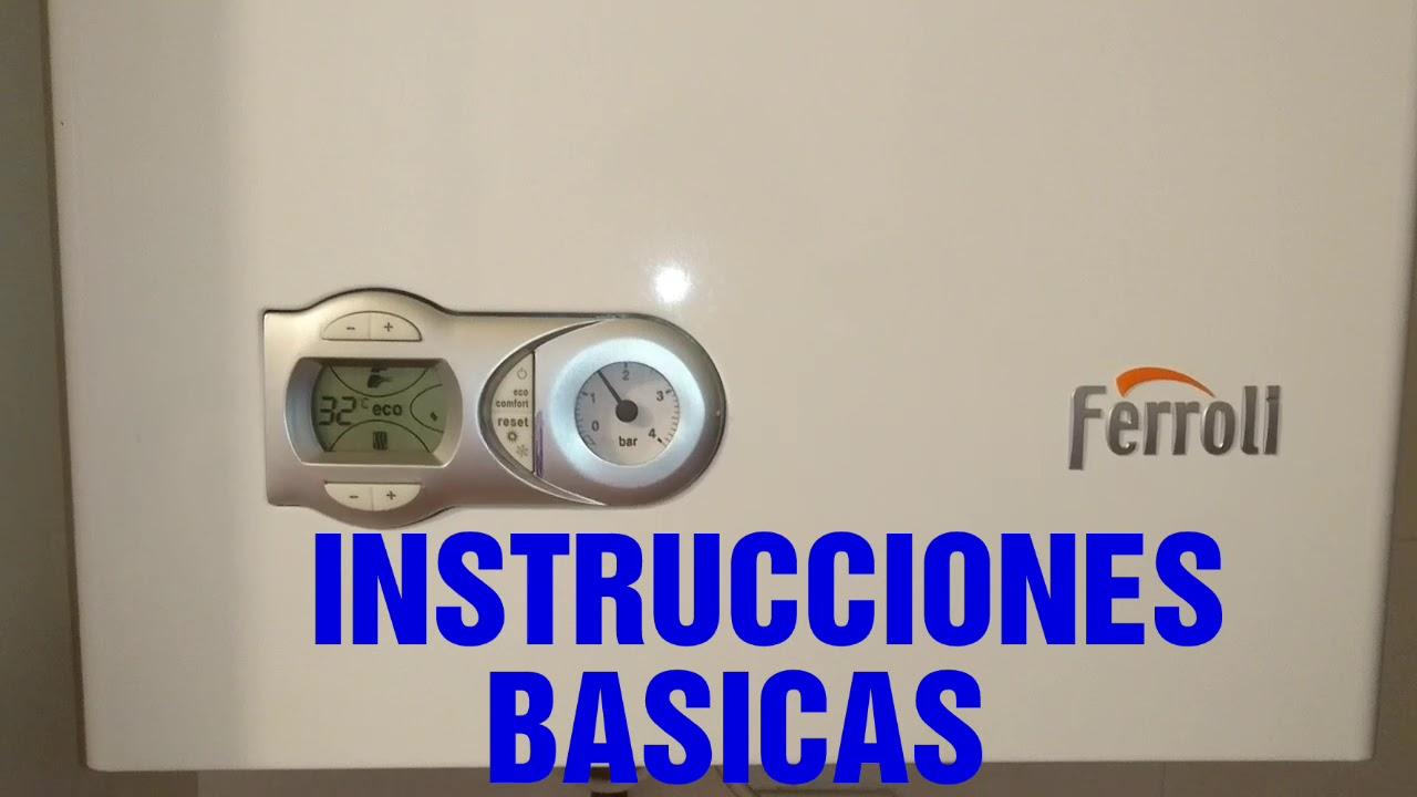 Ferroli Domiproject Instrucciones De Manejo