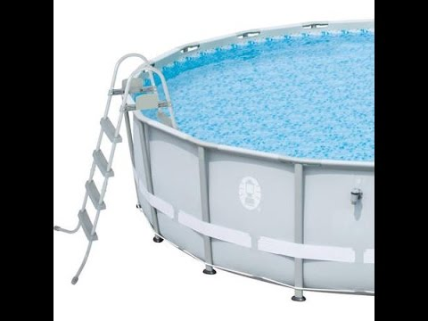 Coleman Power Steel 16 Foot Pool, End of Year Review