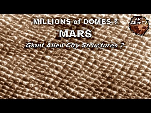 Millions of Mars Domes - Giant Alien City Structures ?