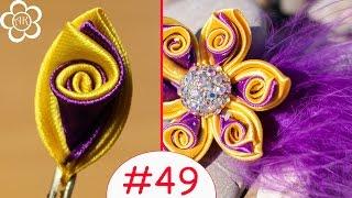 Flor de pétala tripla em forma de espiral por Anastacia Kulikova