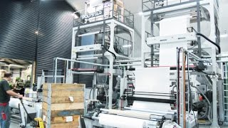 2 Sets Of Blown Film Machines Are Installed In Denmark