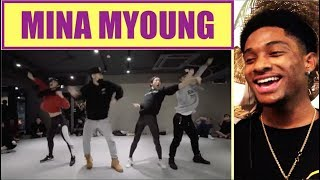 Twerk It Like Miley - Brandon Beal (Dawin Remix) / Mina Myoung Choreography - ALAZON 350 REACTION