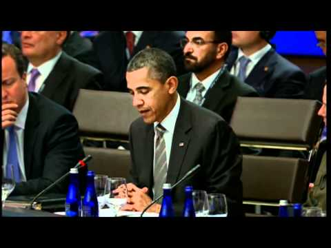 NATO Summit Chicago- President Obama's Welcoming Remarks at the Meeting on Afghanistan