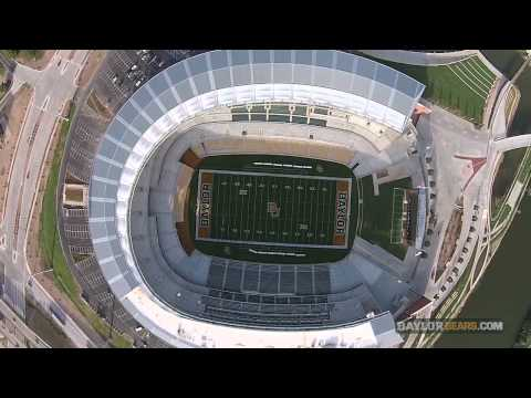 This Aerial Video Of Baylor S Mclane Stadium Will Take Your