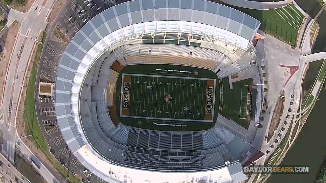 This Aerial Video Of Baylor S Mclane Stadium Will Take Your Breath Away