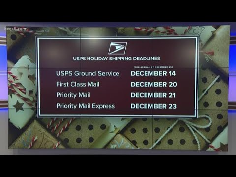 Justin The Web Guy - Holiday U.S. Postal Delivery Deadline Dates!