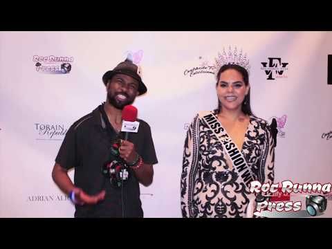 Big Vegg Interviews Miss Fashion Week Jersey city Plus 2018 @ The Miss Fashion Week Jersey City