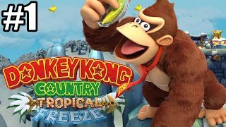 ROZPOCZYNAMY MAŁPIĄ PRZYGODĘ! - Let's Play Donkey Kong Country Tropical Freeze #1 [NINTENDO SWITCH]