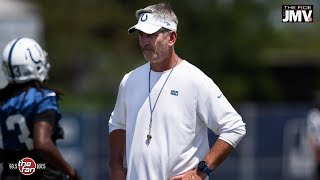 Frank Reich Talks Andrew Luck, Year 2, with JMV