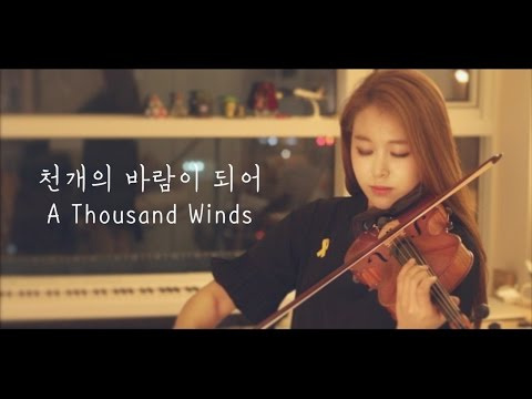 A Thousand Winds violin cover(Eng.sub)_Sewol Ferry Disaster after 2years