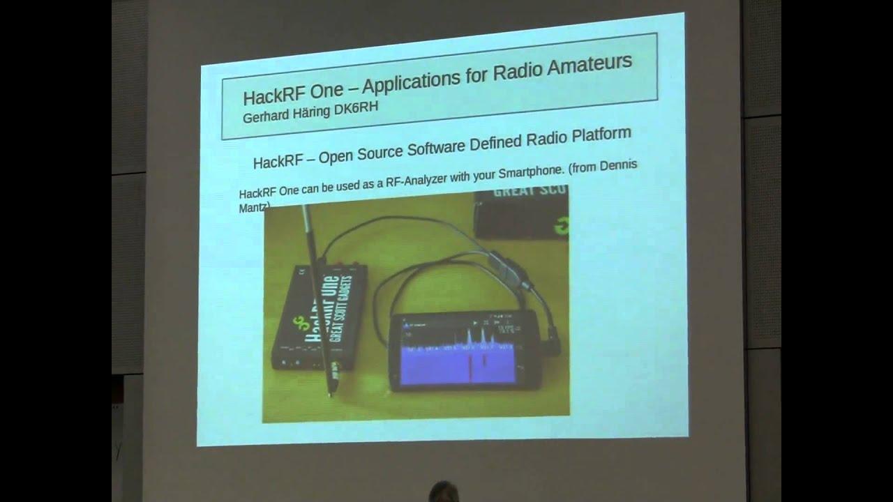 Gerhard Häring, DK6RH: Anwendungen für den HackRF im Amateurfunkbereich