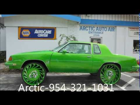 "AceWhips.NET- Bree's Oldsmobile Cutlass on 28"" VF602 ASANTIS"