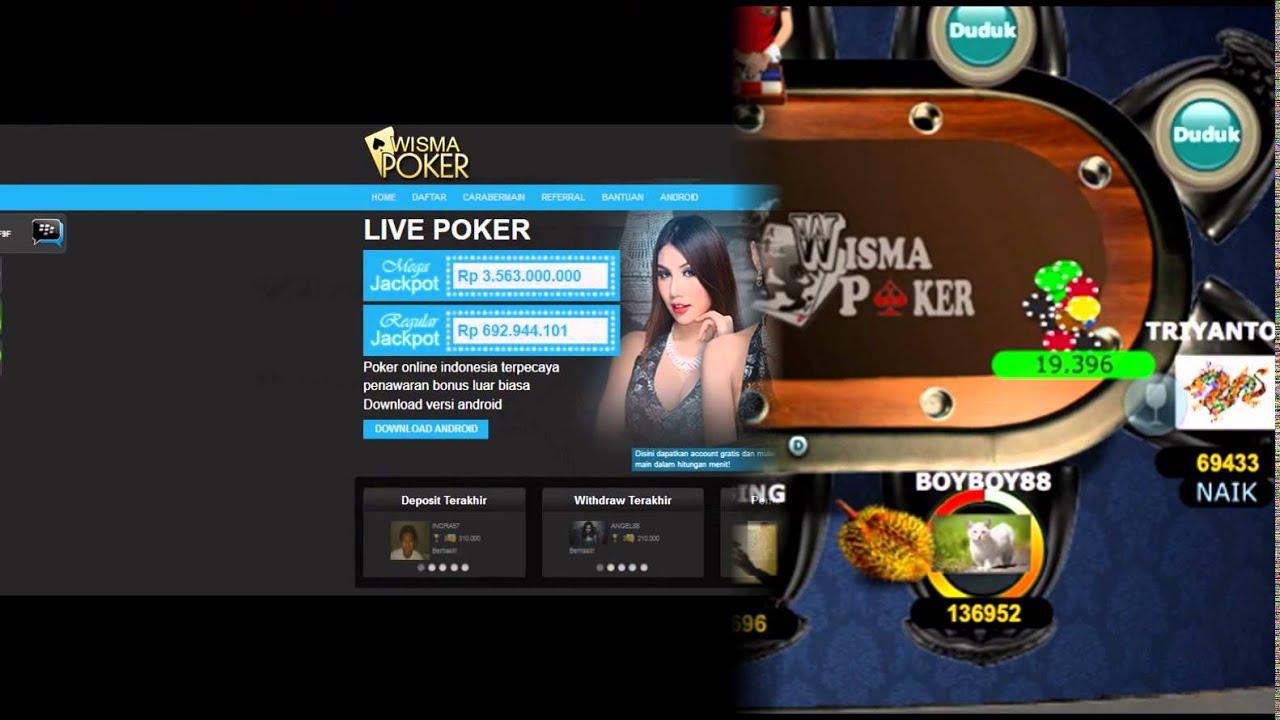 Judi Poker Poker Online Indonesia Poker Online Terpercaya Wismapoker Dewapoker Poker Online Youtube