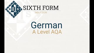 A Level German Induction Lesson