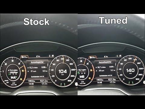RaceChip 0-100 km/h - Vorher/Nachher - Audi VW 3 0 TDI - AK-Racing-47 -  Beschleunigung - Chip GTS