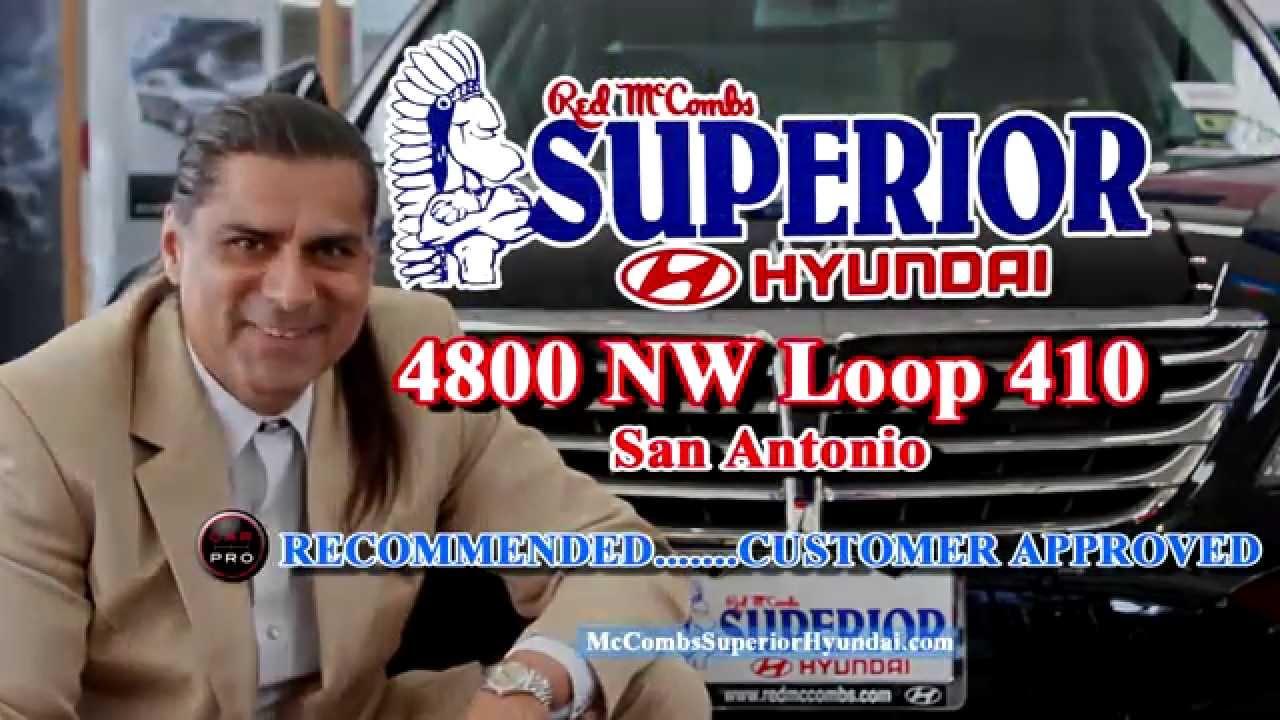 Red Mccombs Superior Hyundai >> Superior Man at Red McCombs Superior Hyundai - YouTube