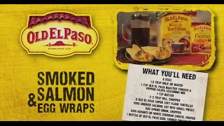 Salmon & Egg Wraps | Andy Bates | Old El Paso