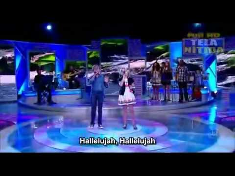 Hallelujah - Duet by Jotta A and Michely Manuely (with Lyrics).flv