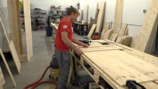 Building A Mobile Woodshop (part 19) Making Cabinet Parts.
