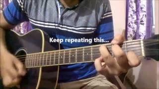 Gambar cover Ik Vaari Aa - Arijit Singh | Guitar Lesson For Beginners | Pritam | Raabta