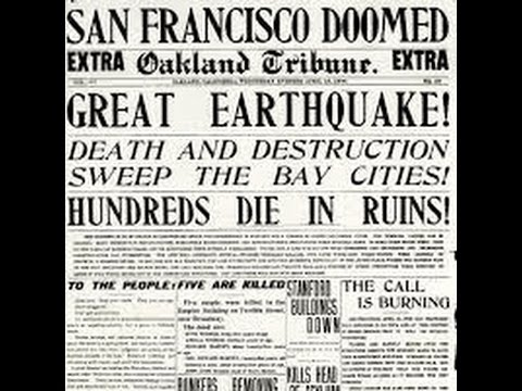 Remembering Bill Del Monte and the 1906 Earthquake, Monte Irvin, Richard Libertini, Kitty Kallen