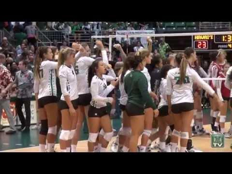 WVB: No. 6 Hawai'i vs No. 4 Wisconsin Highlights