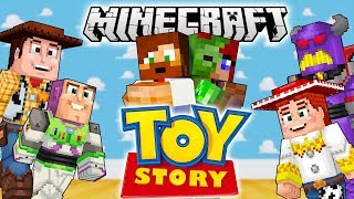 Alla Toy Story Filmer i Minecraft!! 🎥😍