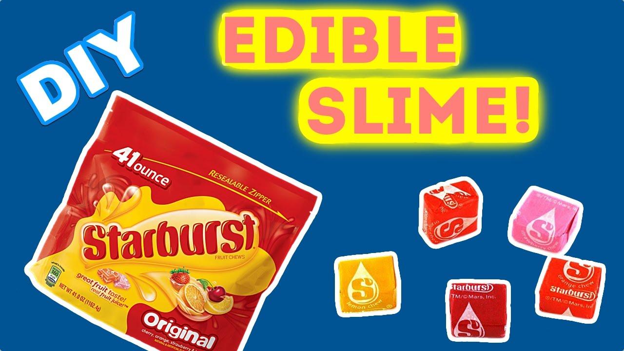 909bcb7387f2 Starburst Slime DIY Food Edible Slime - YouTube