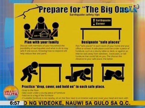 UB Earthquake safety tips  YouTube