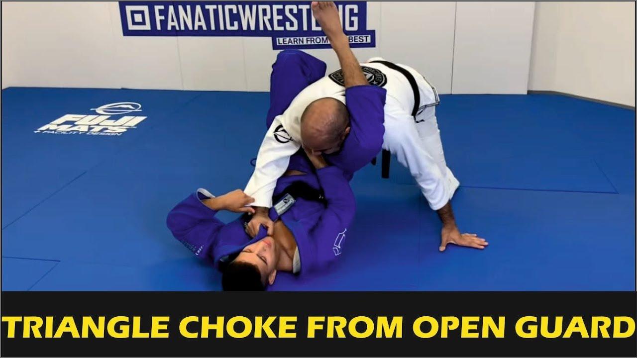 Triangle Choke From Open Guard by Matheus Gabriel