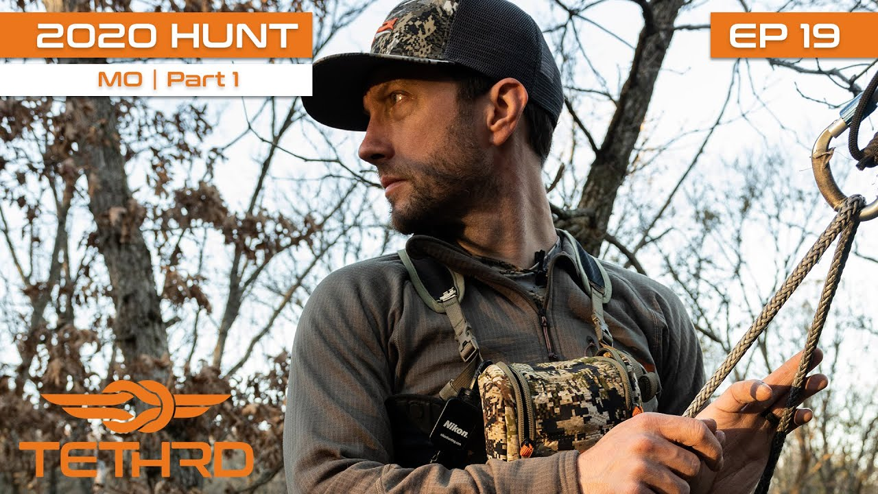 2020 Tethrd Hunt Tour -Missouri Public Land With Clint Campbell-