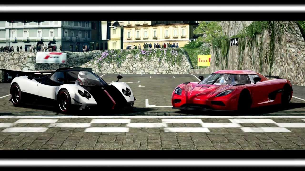 Forza Motorsport 4 Battle - S1.E4: Pagani Zonda Cinque Vs Koenigsegg