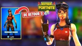 Live Boutiques Fortnite du 24 Mars 2019 - Fortnite item shop march 24 2019 - New skin