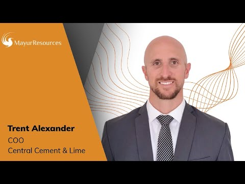 Trent Alexander Interview - COO Lime & Cement