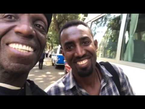 In Addis Ababa, Ethiopia with Sankofa World Tours