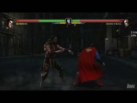 Mortal kombat universe with reptile ajs parody